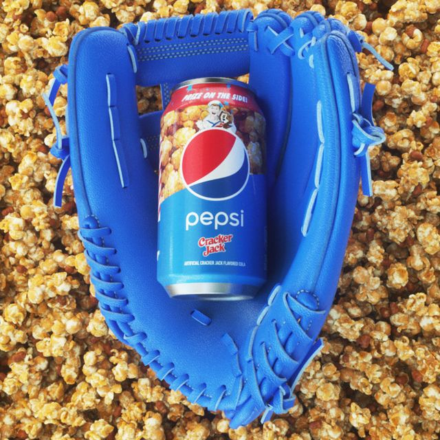 pepsi cracker jack soda flavor