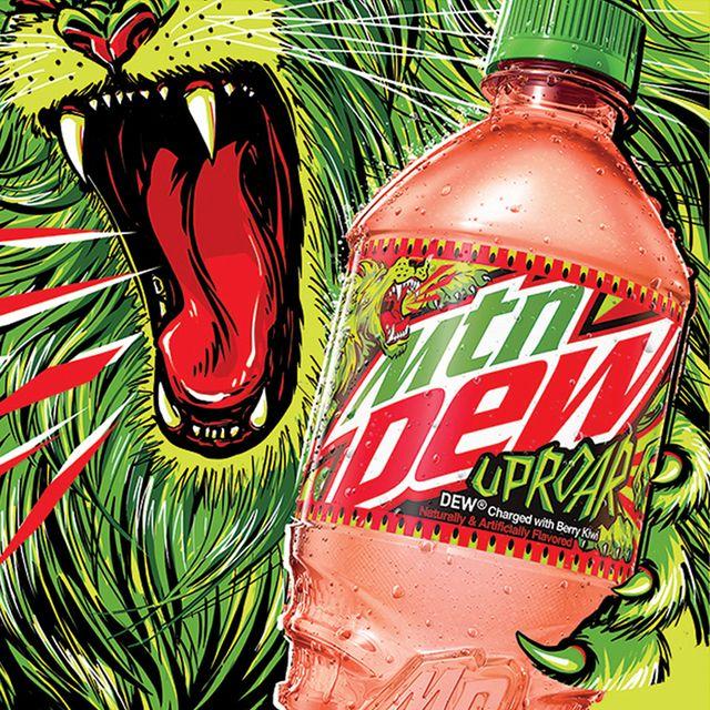 pepsico mountain dew uproar soda