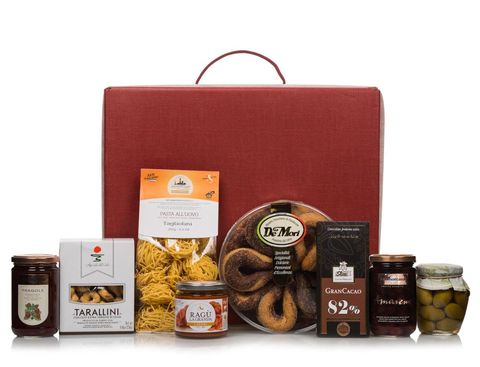 Hamper, Liqueur, Basket, Drink, Present, Food,
