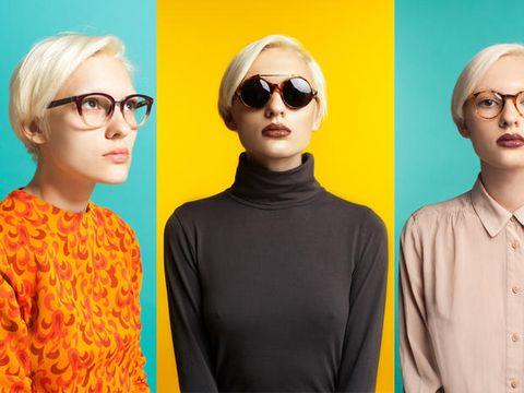 Clothing, Eyewear, Glasses, Ear, Vision care, Hairstyle, Sleeve, Chin, Collar, Dress shirt,