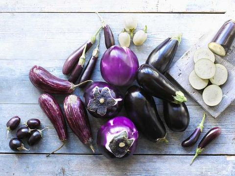 Purple, Eggplant, Violet, Ingredient, Vegetable, Natural foods, Produce, Still life photography, Lavender, Whole food,