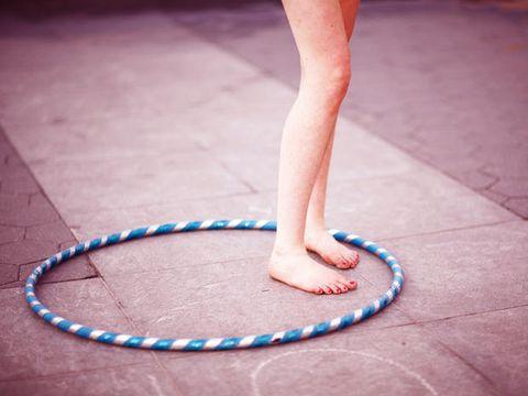 Leg, Toy, Hula hoop, Human leg, Ankle, Foot,