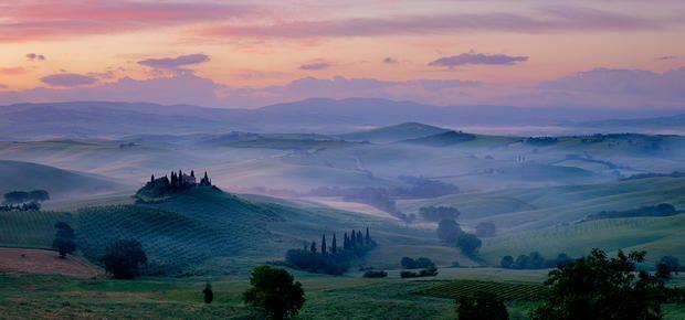 Montalcino, tra i posti da visitare in Italia con un panorama mozzafiato.