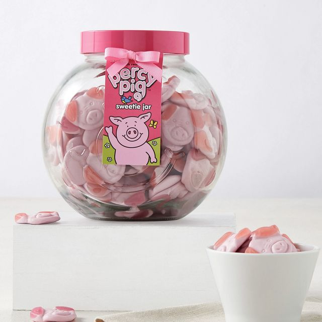 marks spencer percy pig jar