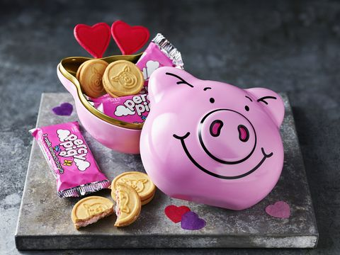 percy pig tin for valentine's day