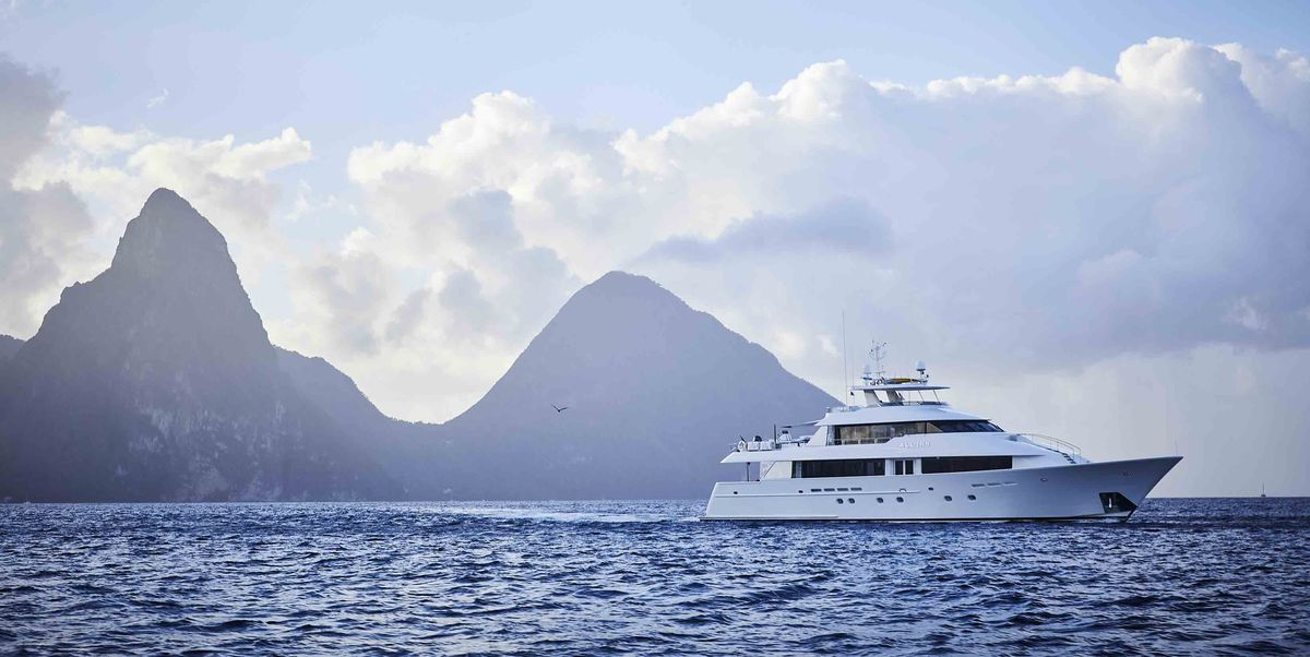 A Breezy Yacht Party Off the Coast of Saint Lucia Turns into a Spirited Sea Journey Across the Caribbean