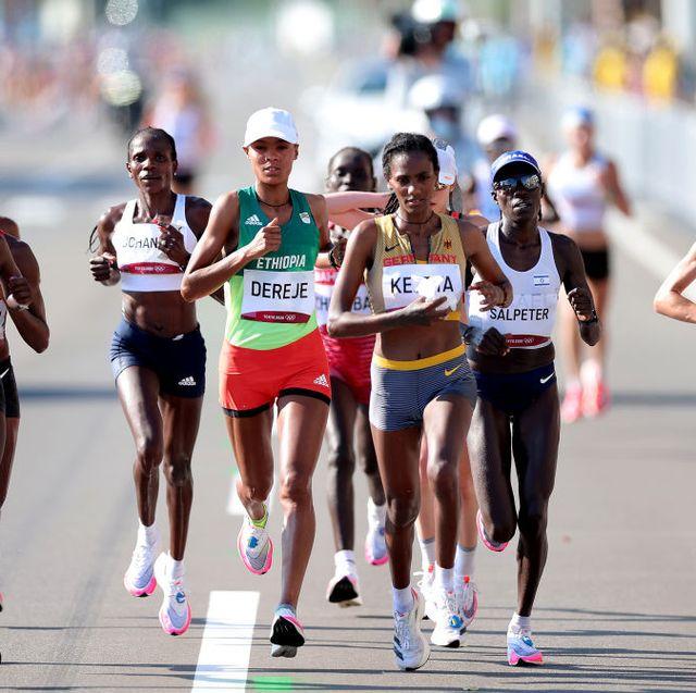 marathon period cramps