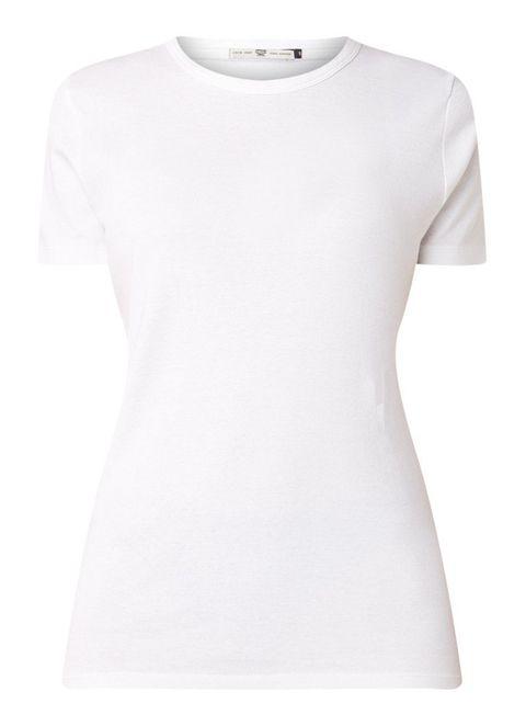 het perfecte witte-t-shirt