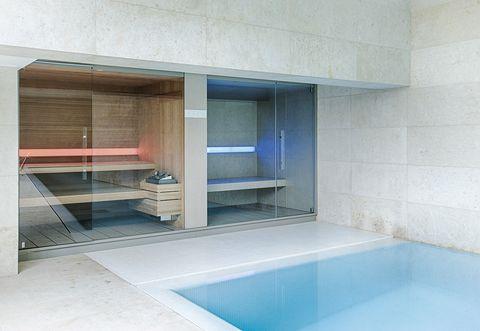 Doccia Con Sauna E Bagno Turco Prezzi.Logica Hammam E Sauna Insieme In Un Solo Ambiente