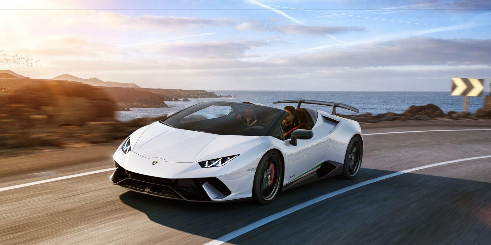 The 2019 Lamborghini Huracan Performante Spyder Pictures