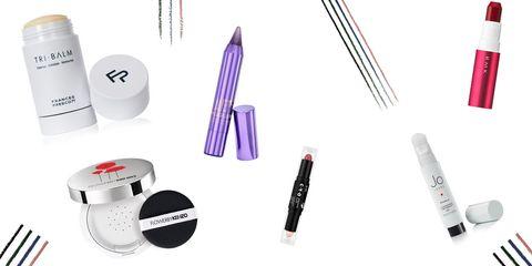 Perfume brushes and makeup crayons