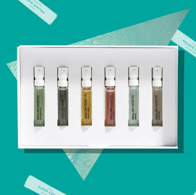 malin goetz fragrance discovery set and byredo la selection boisee eau de parfum collection