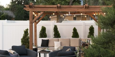 16 Best Pergola Ideas for the Backyard - How to Use a Pergola Ideas Pergolas Backyard Makeover on backyard labyrinth ideas, backyard kitchen ideas, backyard landscape ideas, backyard bbq ideas, backyard patio pergola, backyard pergola decor, backyard wood ideas, backyard hot tub privacy ideas, backyard gazebo ideas, backyard portico ideas, backyard umbrella ideas, backyard bathroom ideas, patio ideas, backyard irrigation ideas, backyard deck ideas, backyard island ideas, backyard pier ideas, backyard grading ideas, backyard fireplace ideas, backyard construction ideas,