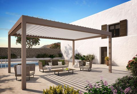Property, Building, House, Home, Pergola, Shade, Roof, Architecture, Real estate, Residential area,