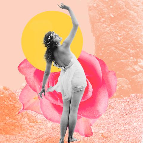 Pink, Ballet dancer, Illustration, Art, Dance, Fictional character,