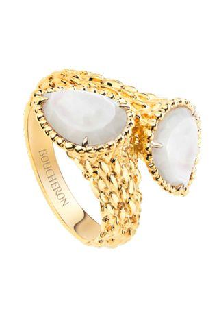 anillo de perlas boucheron