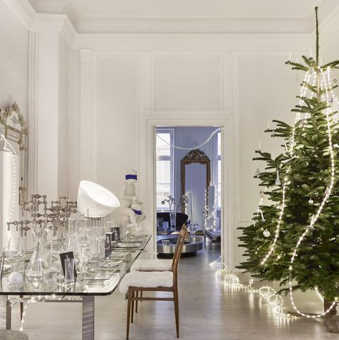 christmas home of pernille hell, founder of sacre couer design store in copenhagen