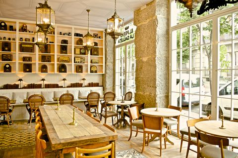 cafeterias madrid