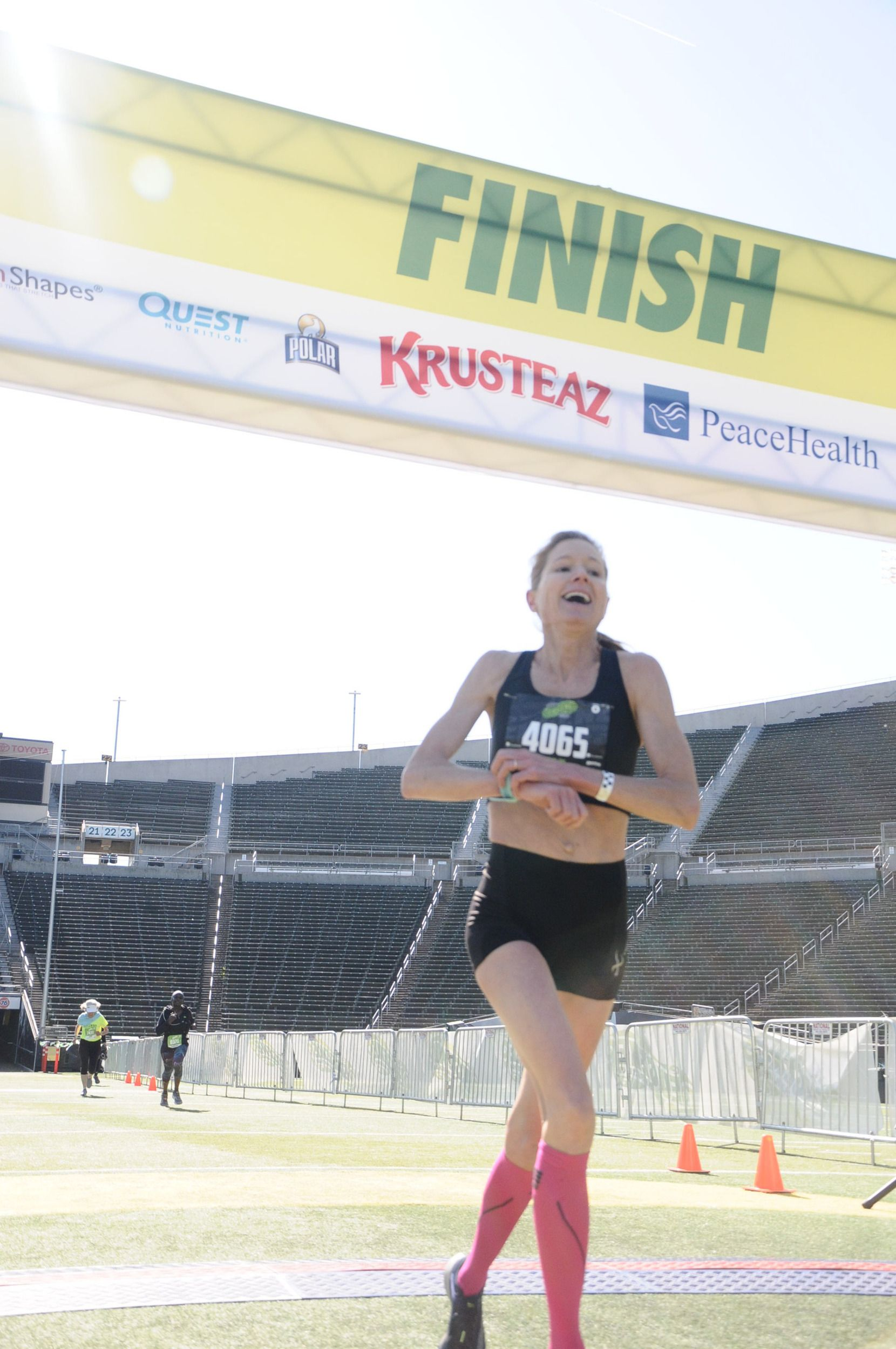 With Her Family Behind Her, 48-Year-Old Virginia Mom Qualifies for Olympic Trials