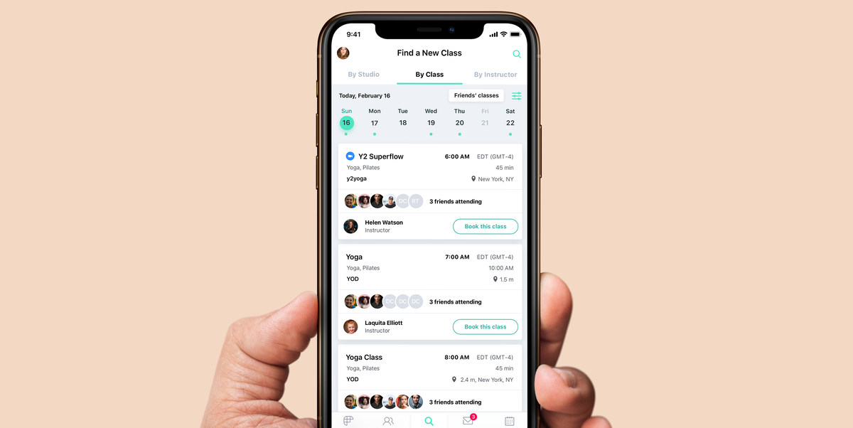 This App Is Here to Help You Connect With People In Your Fitness Class