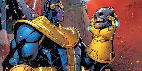 Thanos en comics