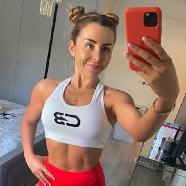 personal trainer courtney black on how her body changed after a holiday