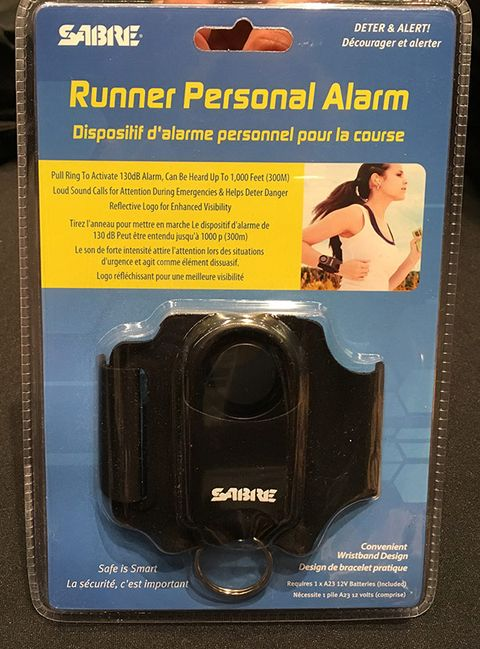 SABER Runner Personal Alarm with Adjustable Wrist Strap