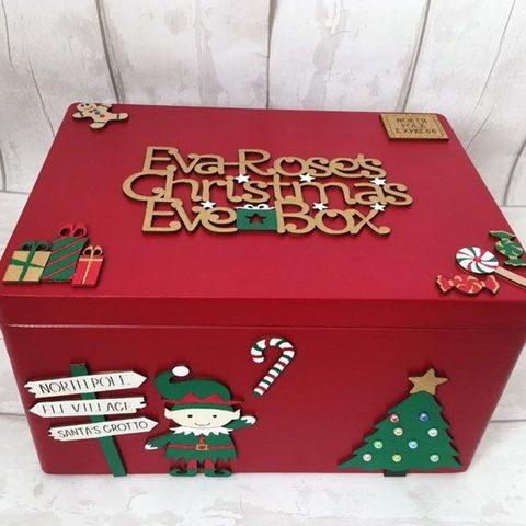 How To Make Favour Boxes Easy Christmas Crafts
