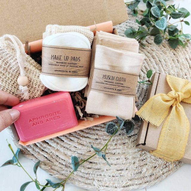 personalised letterbox essential vegan organic spa