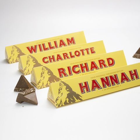 Tesco Is Doing Personalised Toblerone Bars For Christmas