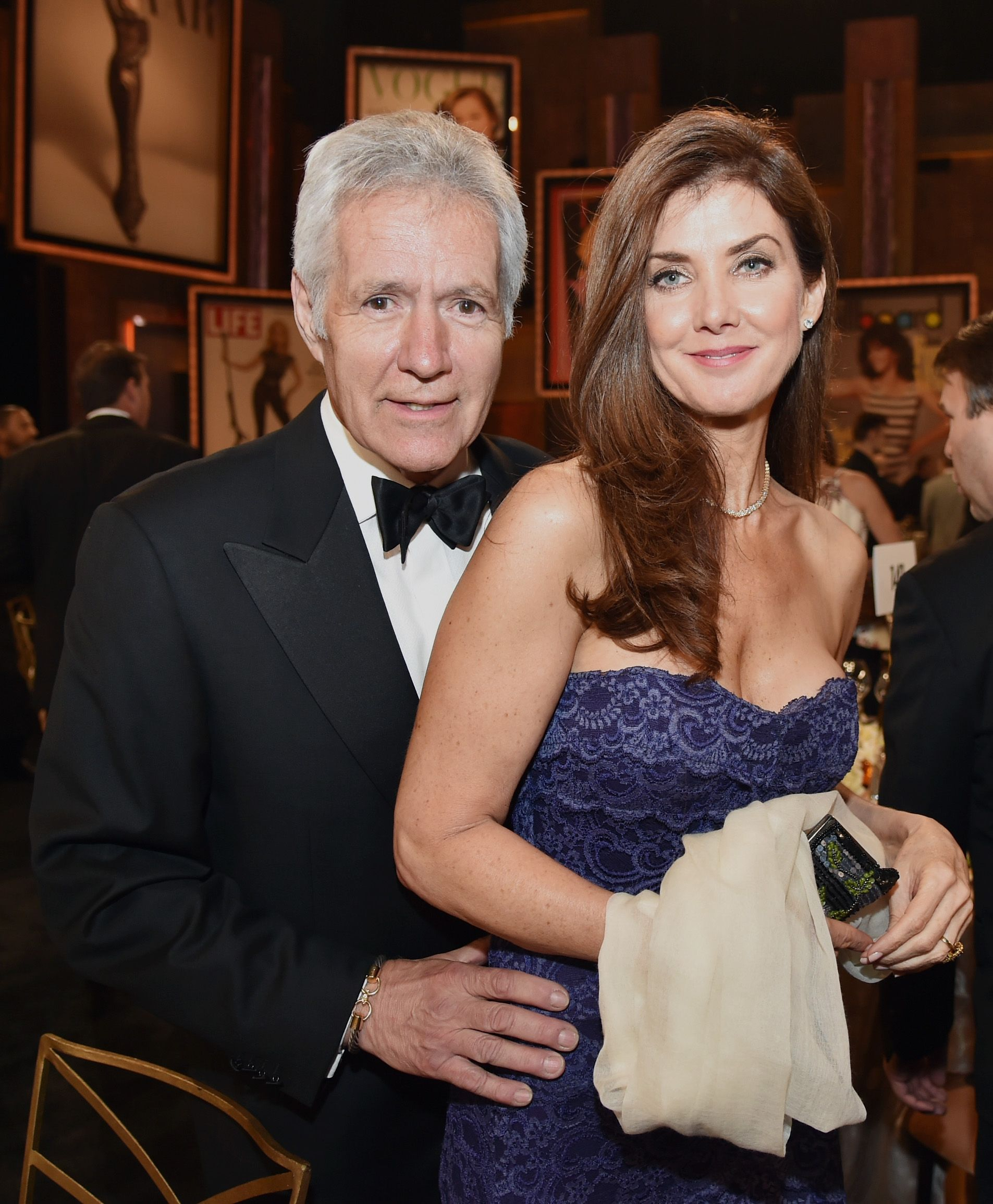 Alex Trebek's Wife Says Seeing Him in Pain is the Hardest Part of His Cancer Battle