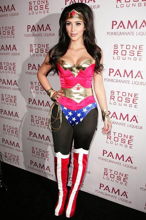 Kim Kardashian Hosts Halloween Masquerade at Stone Rose