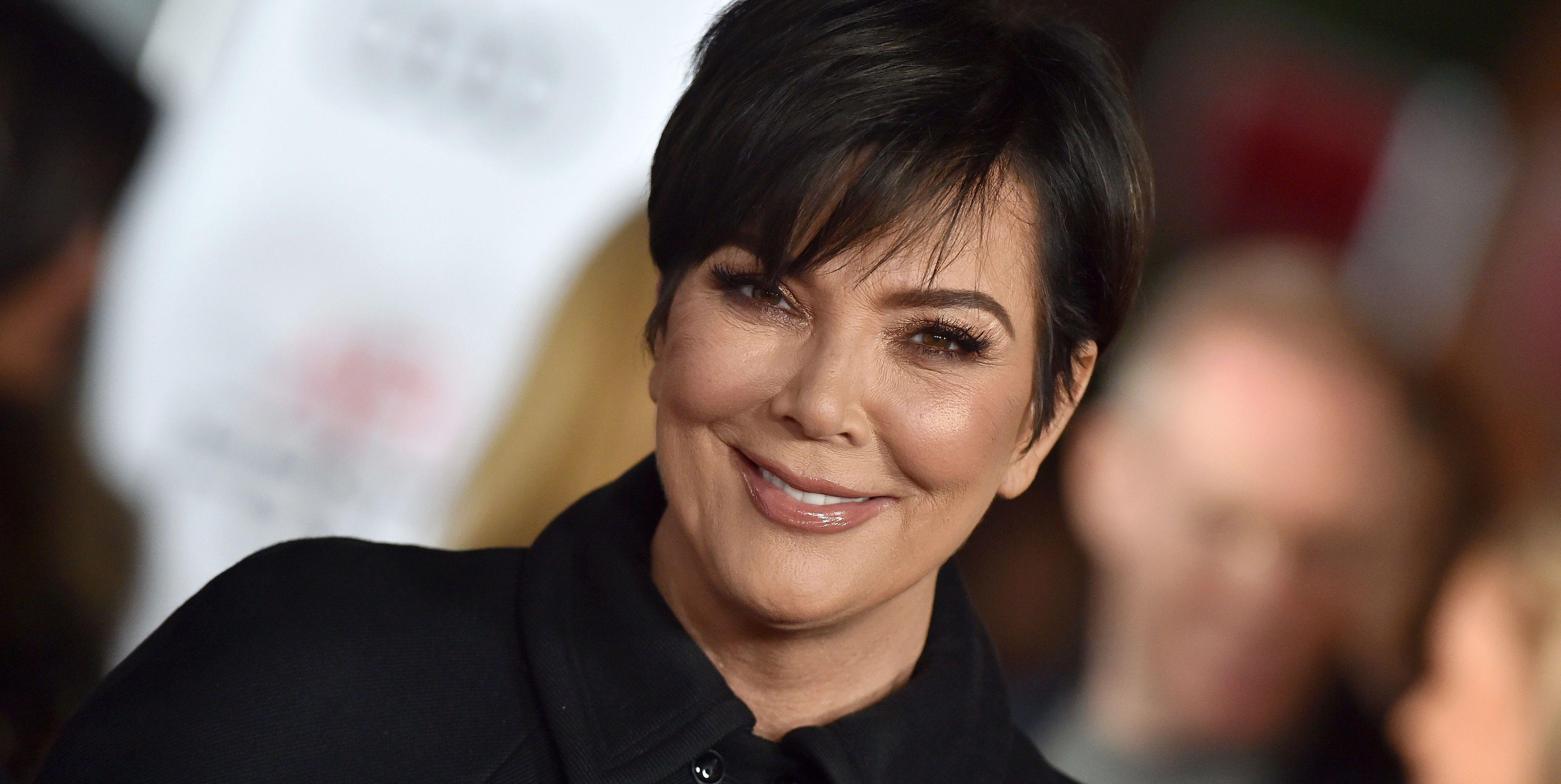 Kris Jenner nieuwe kapsel