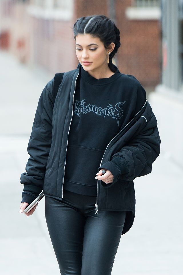 Kylie Jenner Sighting In New York City