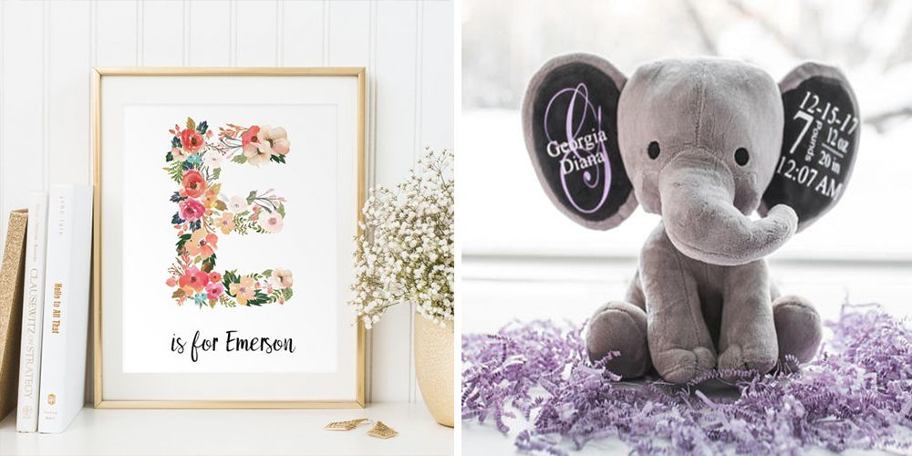 Personalised Silver Baby/'s First Photo Frame Ideal Baby Gift Engraved