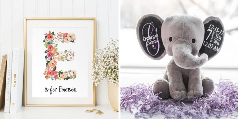 10 best personalized baby gifts for new parents monogrammed baby these are the real keepers presents theyll cherish for years to come negle Choice Image