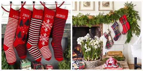 personalized christmas stockings - Decorating Christmas Stockings