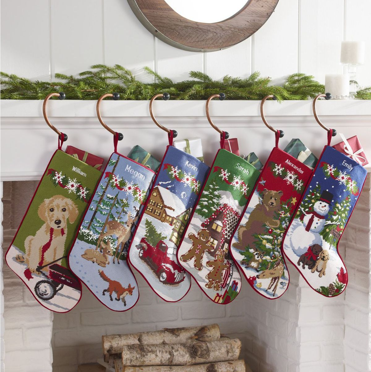 40 Best Personalized Christmas Stockings Unique Christmas Stocking
