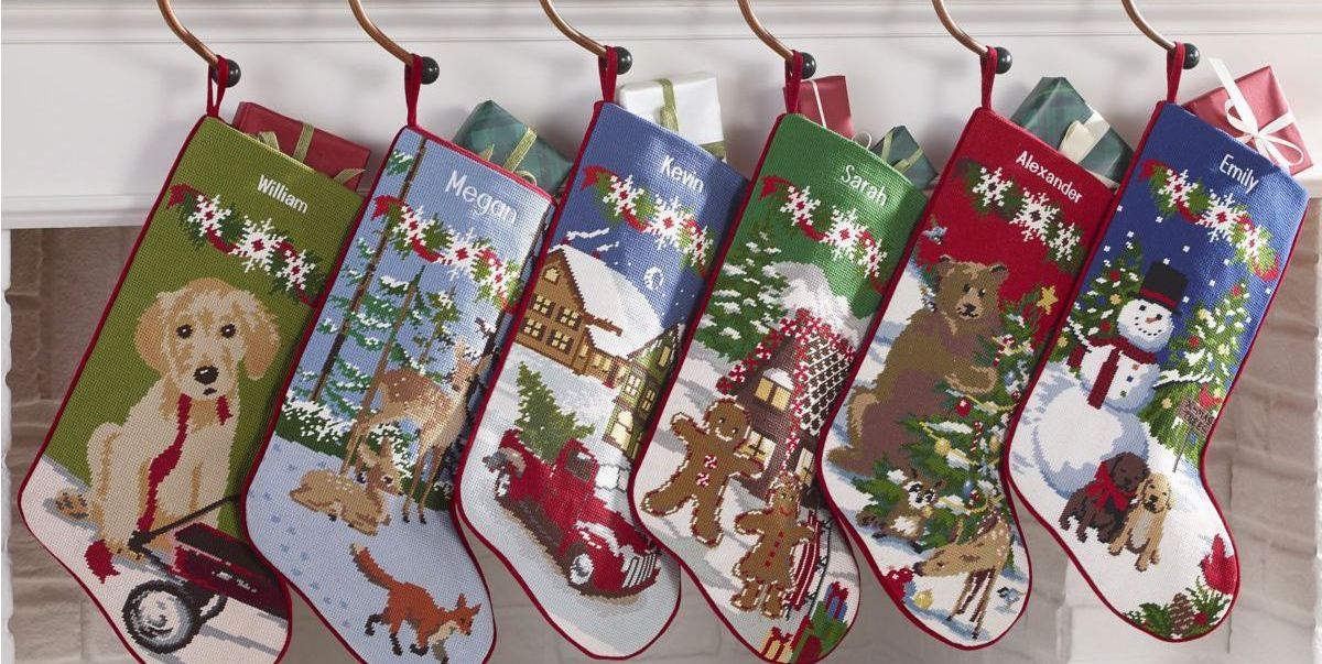 40 Beautiful Personalized Christmas Stockings To Hang By The Chimney With Care
