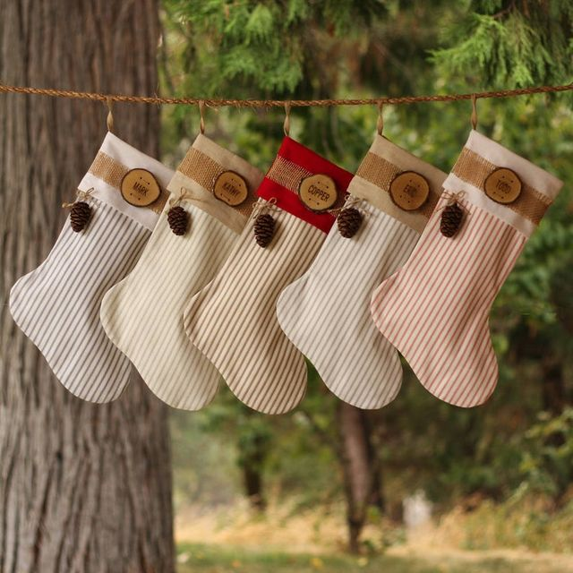 Dog Bone Shaped Pet Stocking