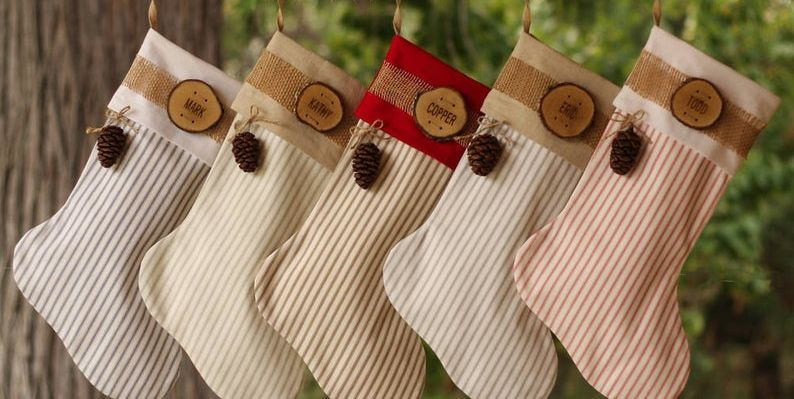 Christmas Stocking.45 Best Personalized Christmas Stockings The Whole Family Will Love Even Your Dog