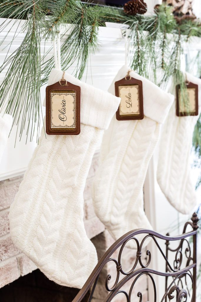 615687b3ff2 40 Best Personalized Christmas Stockings - Unique Christmas Stocking Ideas
