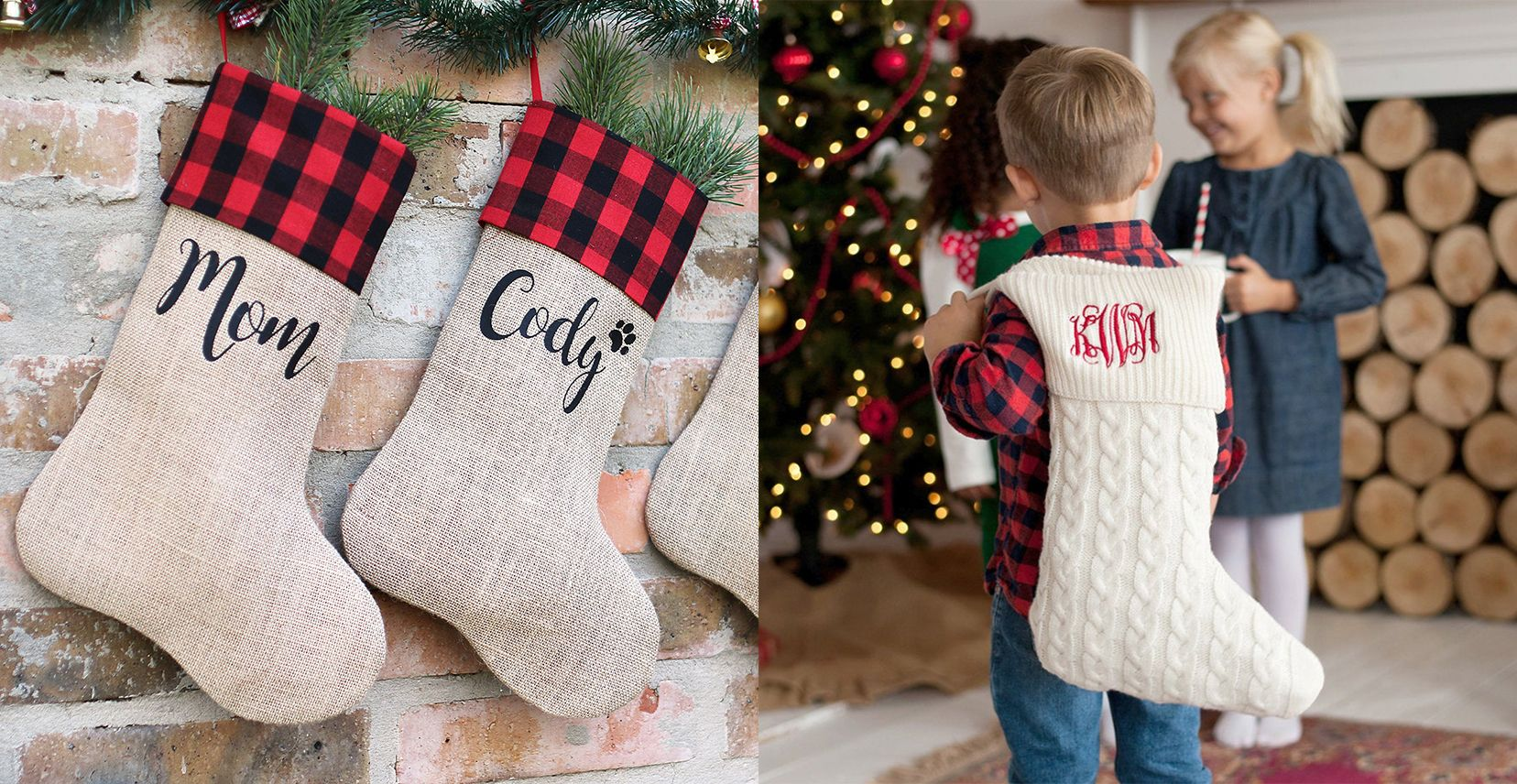 20 Personalized Stockings for Every Member of the Family