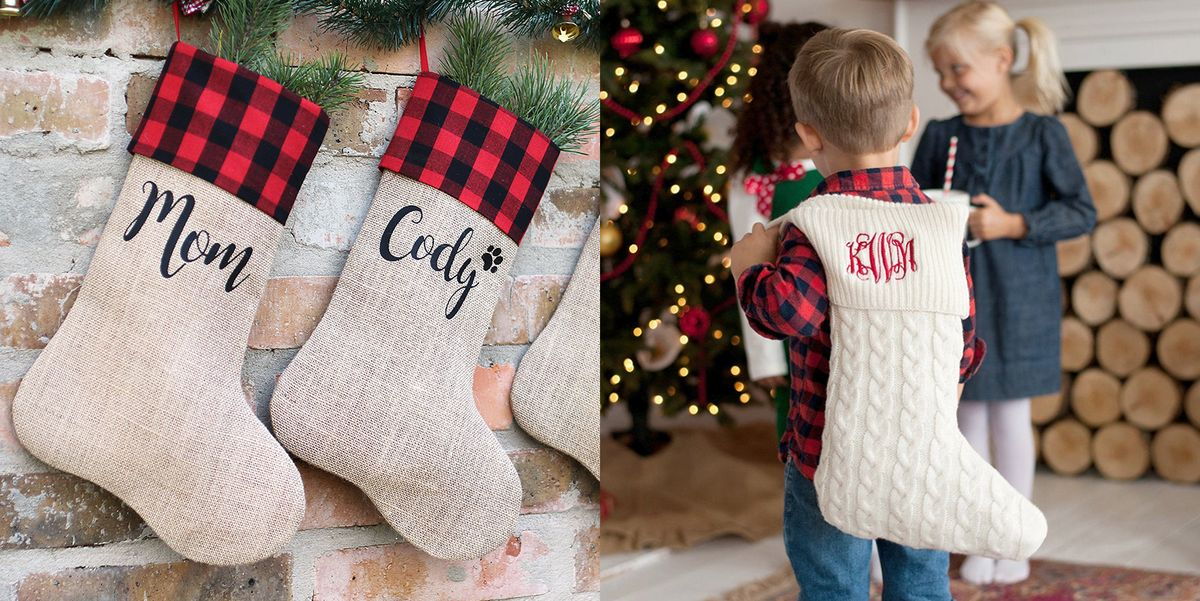 Personalized Christmas Stockings.20 Gorgeous Christmas Stockings For Every Member Of The Family