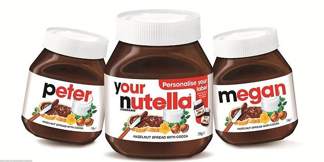 Personalised Nutella Jars Are Back Heres Where To Buy Them