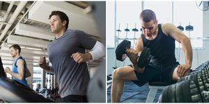 pesas, cardio, cuerpo atletico