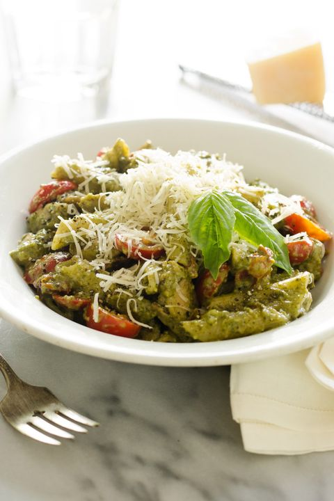 pesto chicken thigh pasta
