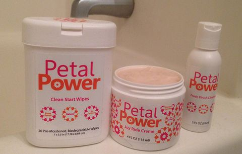 Petal Power chamois kit.