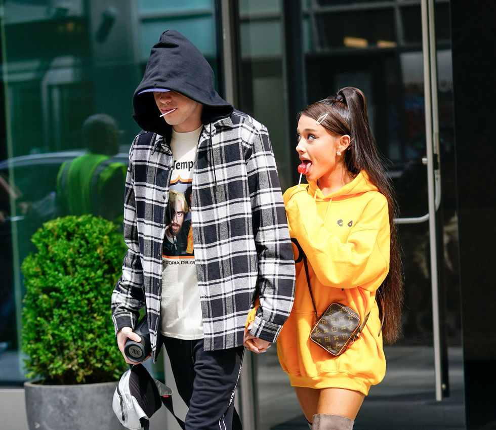 pete-davidson-and-ariana-grande-are-seen