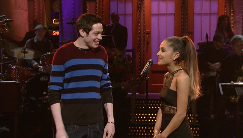 Image result for pete davidson and ariana grande